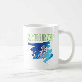 Golf Is Out Of This World Classic White Coffee Mug