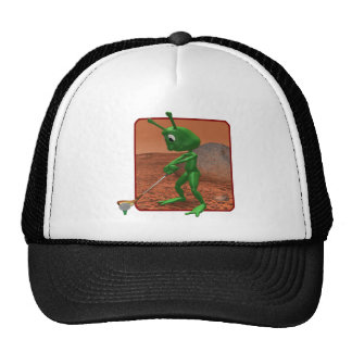 Golf Is Out Of This World Trucker Hats
