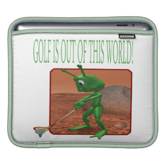 Golf Is Out Of This World iPad Sleeves