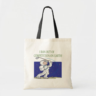 Golf Is Out Of This World Tote Bag