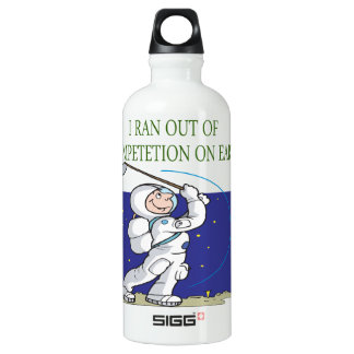 Golf Is Out Of This World Water Bottle