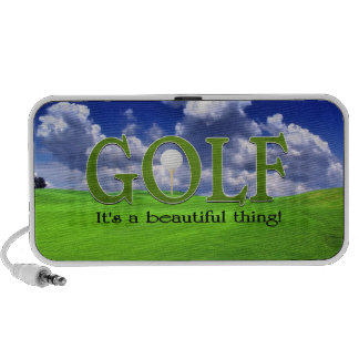 Golf its a beautiful thing iPhone speaker