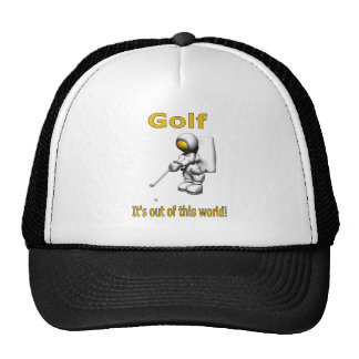 Golf...its out of this world trucker hat