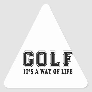 Golf It's way of life Stickers