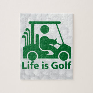Golf jigsaw puzzle. puzzle