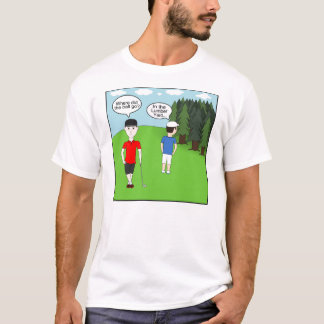 Golf Joke Lumber Yard T-Shirt