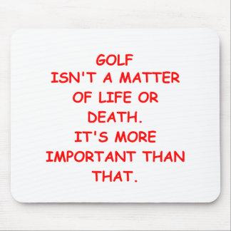 golf joke mousepads