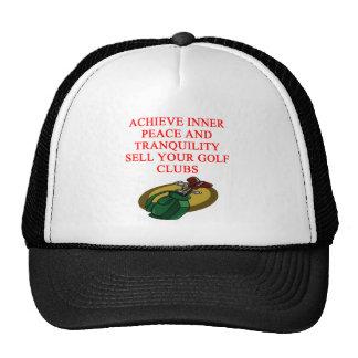 GOLF joke Trucker Hat