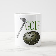 Golf Jumbo Mug