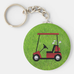 Golf Keychain