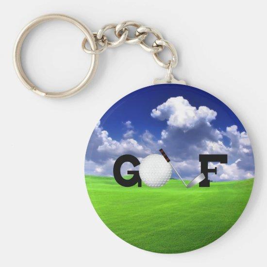 Golf Keychain