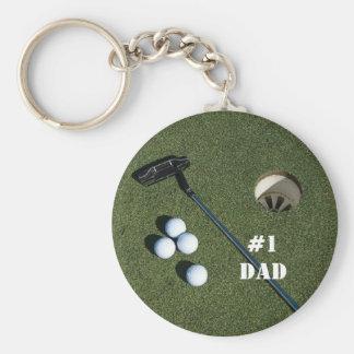 Golf Keychain-Change to any name you wish Keychain
