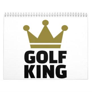 Golf King Calendar