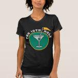 Golf la camiseta de consumición del diecinueveavo