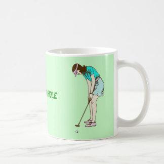 Golf la diecinueveavo taza del agujero