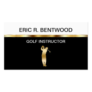 Golf Lessons Business Cards