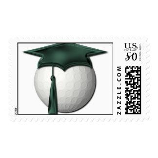 Golf Lessons Postage Stamp