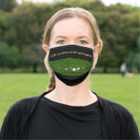 Golf Life is better on the golf course Cloth Face Mask