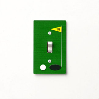 Golf Light Switch Plate Cover