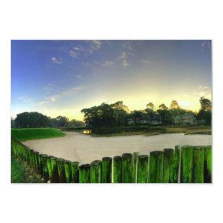 Golf Links Card