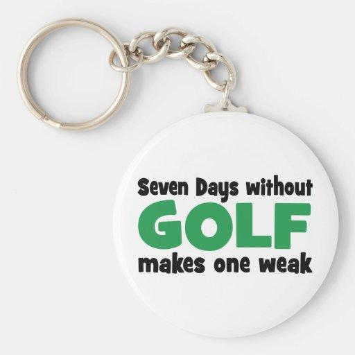golf llavero redondo tipo pin