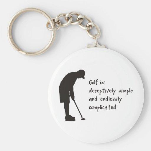 Golf Llaveros Personalizados