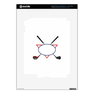 Golf Logo Decal For iPad 3
