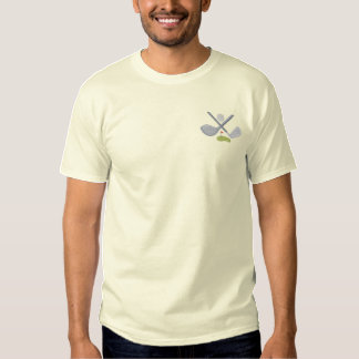 Golf Logo Embroidered T-Shirt