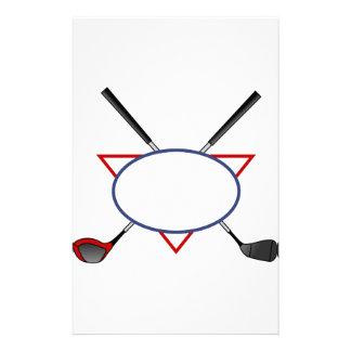 Golf Logo Stationery
