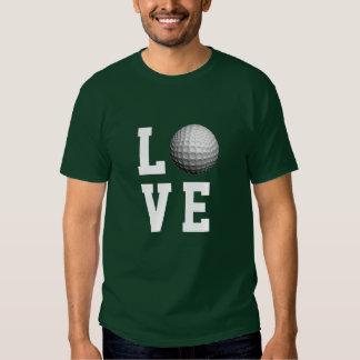 Golf Love Customizable T Shirt