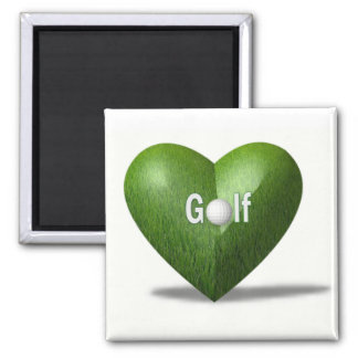 Golf Lover Design Magnet