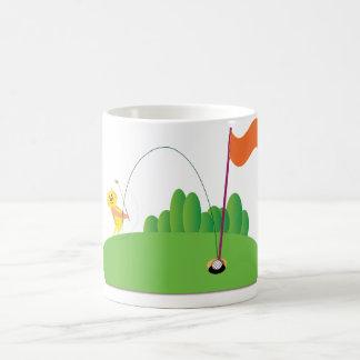 Golf Lover: Hole in One Classic White Coffee Mug