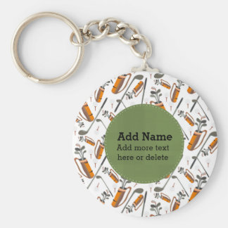 Golf Lover Key Chains