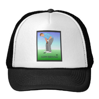 Golf lovers trucker hat