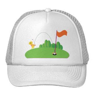Golf Lovers:: Tiger Trucker Hat