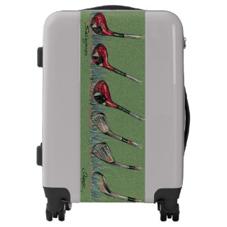 Golf luggage - golf clubs