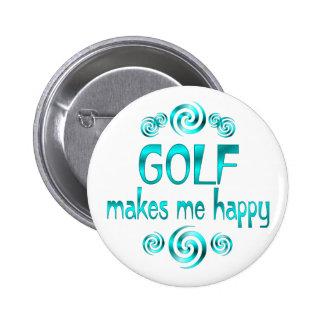 Golf Makes Me Happy Pins
