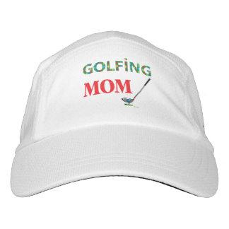 GOLF - MAMÁ GOLFING, gorra ajustable fresco del Gorra De Alto Rendimiento