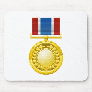 Golf medal mousemats