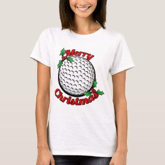 Golf Merry Christmas T-Shirt