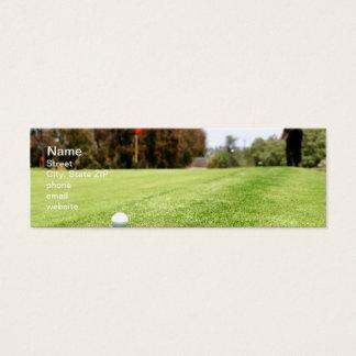 Golf Mini Business Card