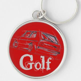 Golf MK I Key Chain
