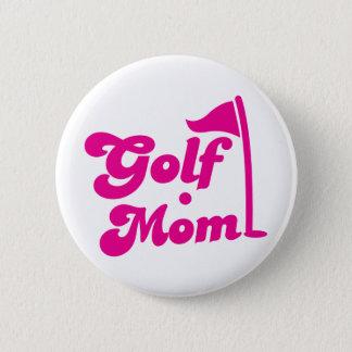 Golf Mom Button