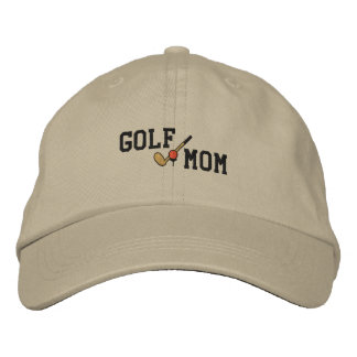 Golf Mom Embroidered Hat