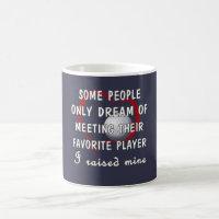 Golf Mom Favorite Player Coffee Mug