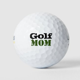Golf Mom for Mother's Day Golf Balls
