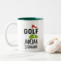 Golf Mom Golfing Gift Mug