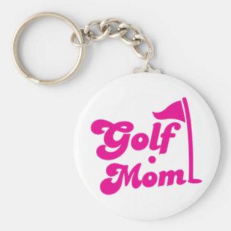 Golf Mom Keychain