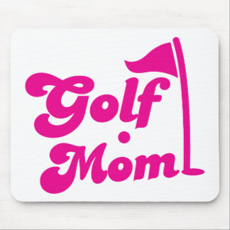 Golf Mom Mouse Pad