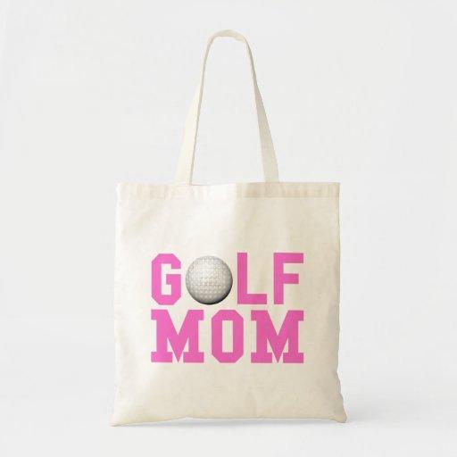Golf Mom Pink.png Canvas Bag